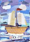 Boat by craig askew, Giclee Print