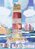 to the lighthouse by craig askew, Giclee Print